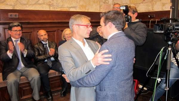 Salamanca.- Corchado felicita a Ricardo Rivero