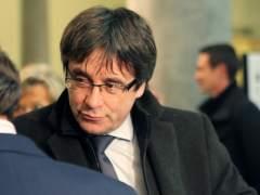 Puigdemont dice que tendrá que volver si el 155 es rechazado