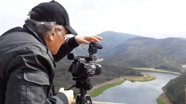 Rodaje del documental en Las Hurdes
