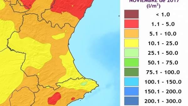 El mes de novembre acaba com el dècim més sec des de 1950, amb un 86% menys de pluges