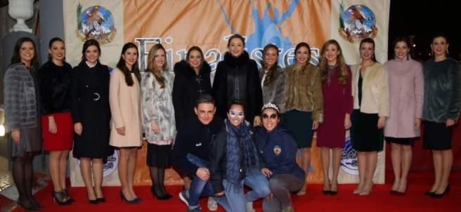 Fallera Mayor de València y Coret de Honor en un acto reciente