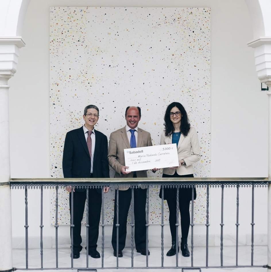 Entregado en sevilla el premio a la mejor tesis doctoral for Oficina sabadell sevilla