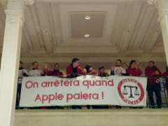La ONG Attac gana un juicio contra Apple, que la acusaba de vandalismo