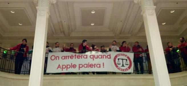 """Pararemos cuando Apple pague"""