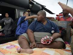 Un colombiano que pesa 400 kilos, trasladado en helicóptero