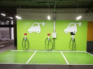 Punto de recarga de Tesla
