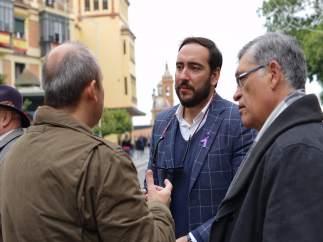 El portavoz municipal adjunto de Ciudadanos Sevilla Francisco Moraga