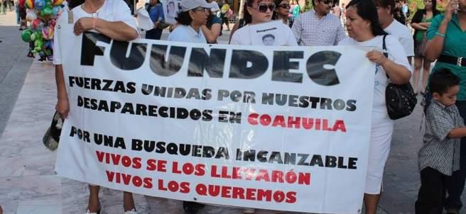 Fuerzas Unidas por Nuestros Desaparecidos en Coahuila