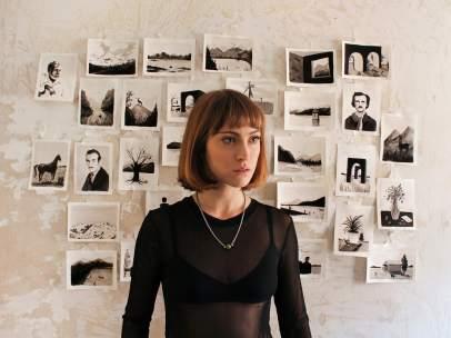 La artista Mercedes Bellido