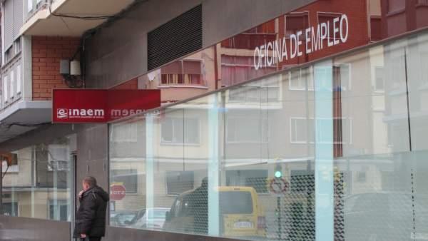 Instituto Aragonés De Emploe (INAEM). Paro.