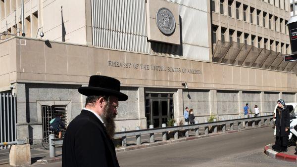 Un judío ultraortodoxo en Tel Aviv