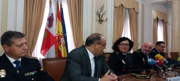 La nueva comisaria de la Policía Nacional en Palencia.