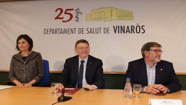 Premsa Presidència. Puig Anuncia La Ampliación Y Mejora De Las Infraestructuras