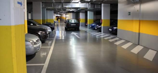 El aparcamiento
