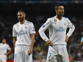 Cristiano y Benzema