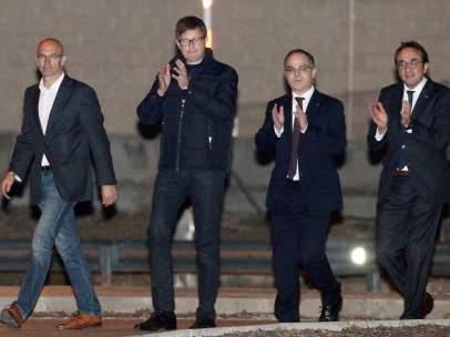 Salida de prisión de cuatro exconsellers