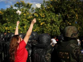 Manifestación en Honduras