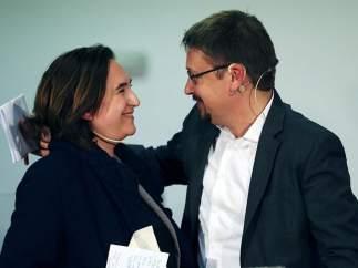 Ada Colau y Xavier Domènech