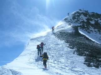 Guía de montaña