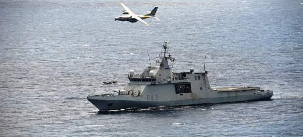 El Buque de Acción Marítima (BAM) 'Rayo'