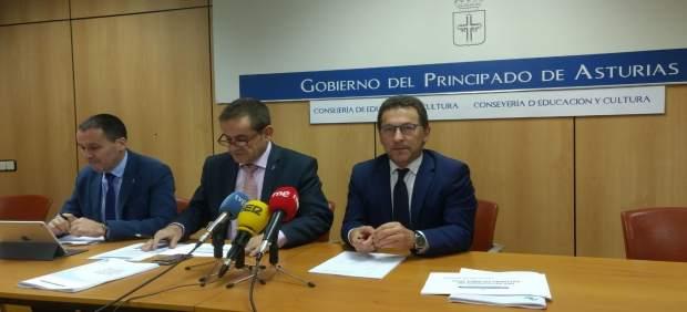 Genaro Alonso con Laviana y Balea.