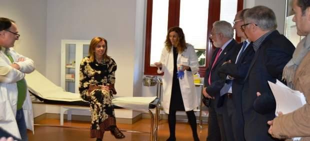 Campaña de vacunación en el Parlamento de Galicia