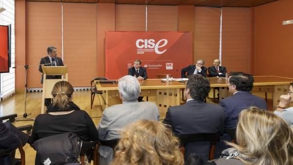 Revilla interviene en el acto de balance de cinco años del CISE