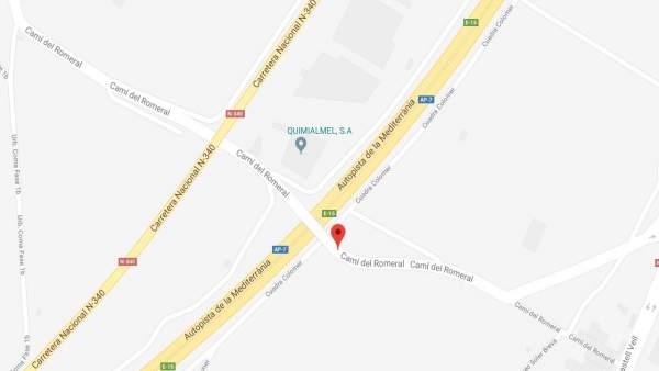 Un hombre fallece tars sufrir una descarga eléctrica en una empresa de Castellón