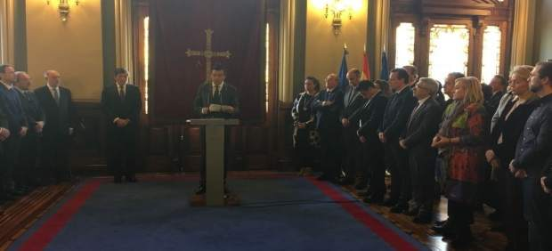 Acto institucional con motivo del 39 aniversario de la Constitución
