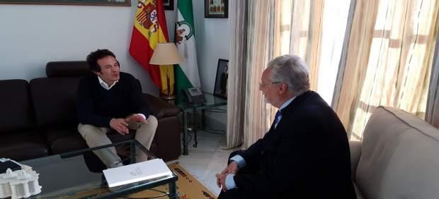 El Defensor del Pueblo Andaluz y el alcalde de Cádiz reunidos