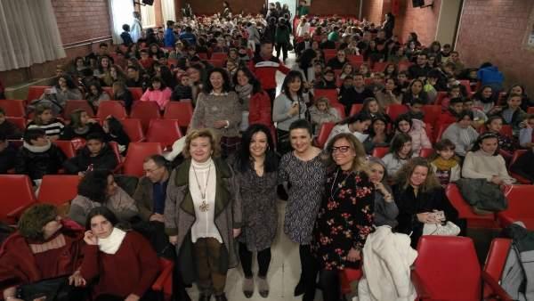 Entrega de los premios del Certamen Literario Solidaridad en Letras.