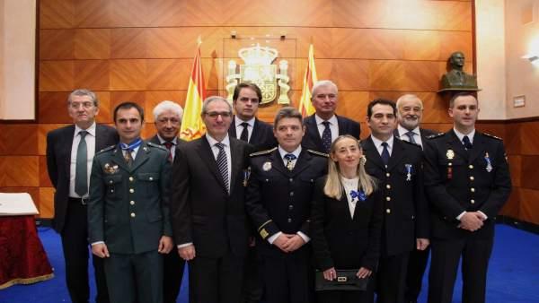 La Delegación del Gobierno en Aragón celebra el aniversario de la Constitución