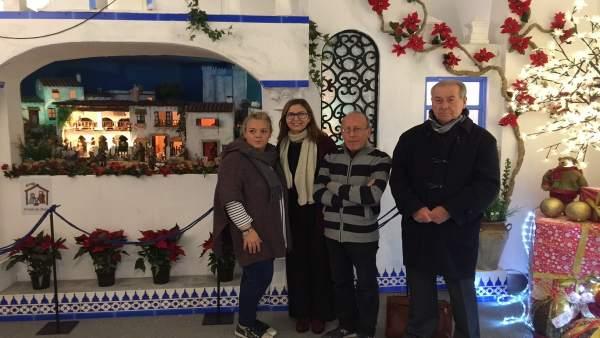 Inauguración del Belén de Cajasol.