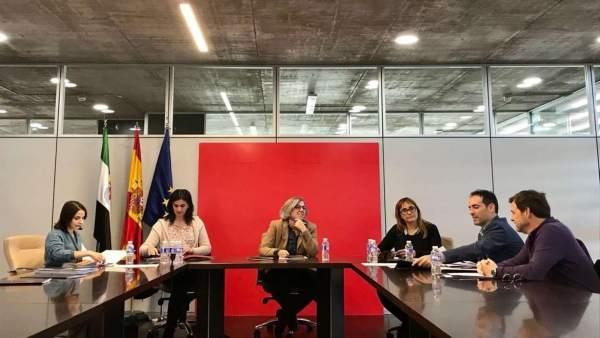 Reunión del Patronato de la Fundación Orquesta de Extremadura