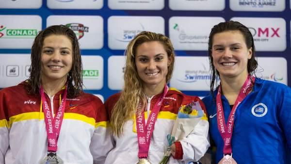 Gascón y Marquès juntas en el podio mundialista