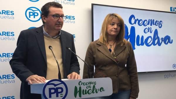 Manuel Andrés González y Pilar Miranda.