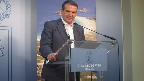 Abel Caballero en rueda de prensa