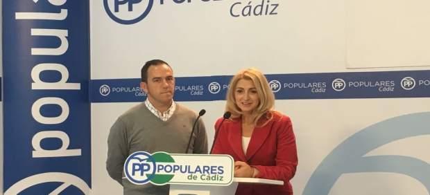 La vicesecretaria general del PP de Cádiz, Laura Seco