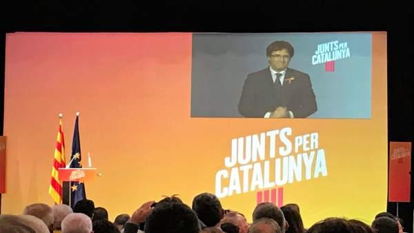 Carles Puigdemont, JuntsxCat
