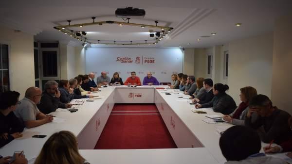 Ejecutiva Regional del PSOE Cantabria