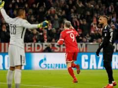 Gol de Lewandowski al PSG