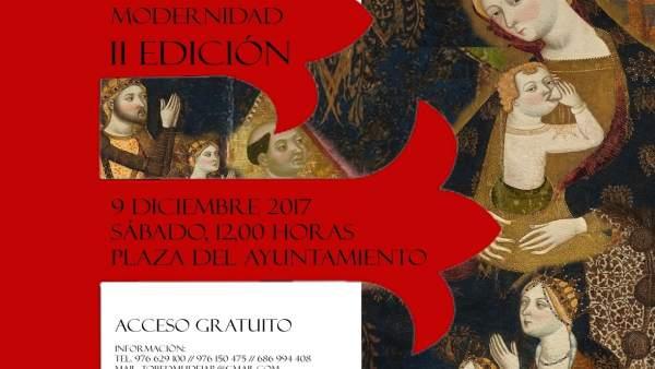 Cartel de los actos de la recreación histórica que se celebra en Tobed