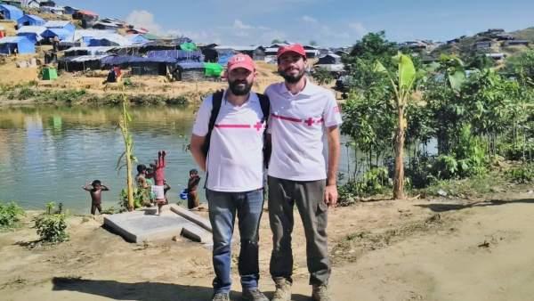 Delegados Navarros En La Emergencia Migratoria A Banglasdeh Cruz Roja Navarra