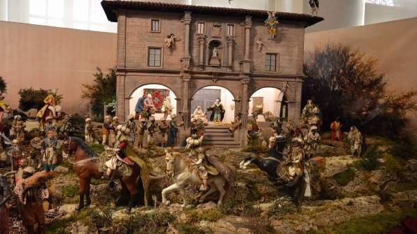 Belén en Oviedo, Navidad