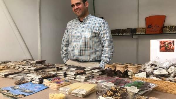 Miguel Ángel Rodríguez, maestro chocolatero de Chocolates 'La Virgitana'.