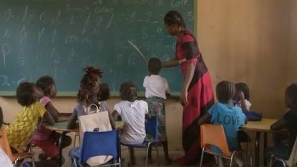 Escuela en Guinea-Bissau