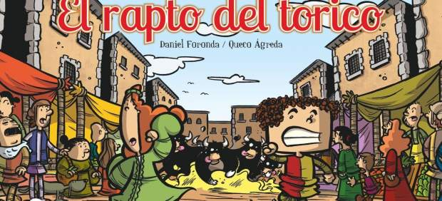 El cómic lleva por título 'Los Amanticos. El rapto del torico'