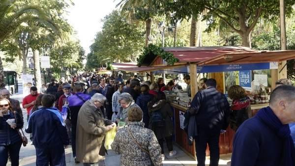 El Ayuntamiento De Málaga Informa: Fotos Inauguración Feria Sabor A Málaga