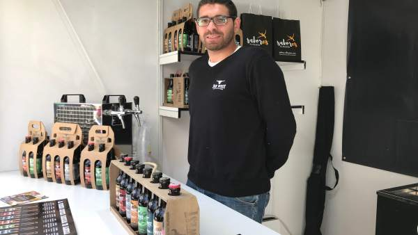 Juan Cruz es copropietario de Cervezas 'Far West', empresa de cerveza artesana.