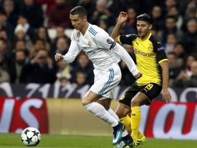 Cristiano Ronaldo ante el Borussia Dortmund